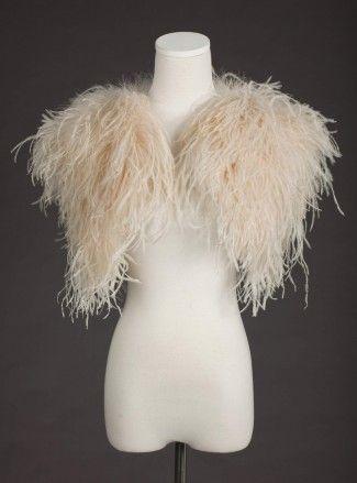 Ostrich feather Bolero Sunshine