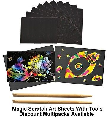 A4 #scratch art #craft paper rainbow #scratch kit #colour art set engraving paper,  View more on the LINK: http://www.zeppy.io/product/gb/2/351793557008/
