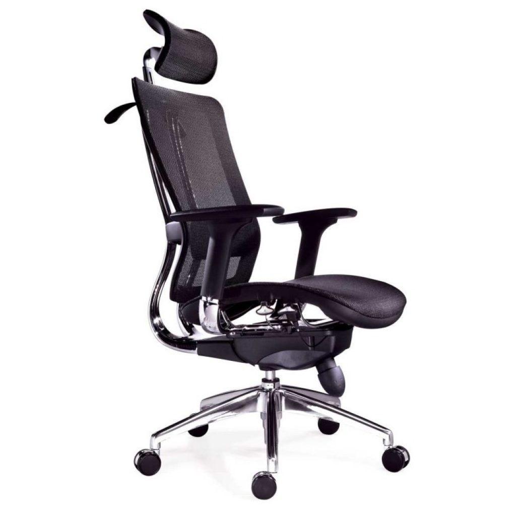 Awesome Adjule Seat Ergonomic Office Chair With Headrest And Caster Wheels As Well Mesh Executive Chairs
