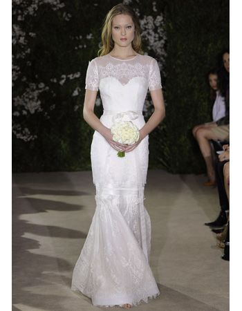 9099a5b33304 Wedding Dresses with Soft Sleeves from Spring 2012 Bridal Fashion Week