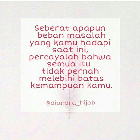 diandra story quote quotes quote of the day bahasa