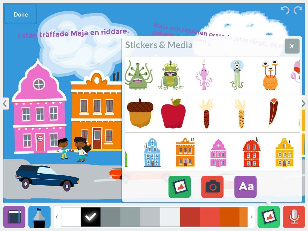 My Story Skapa digitala böcker med ljud, bild och text