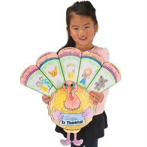 Ready-To-Decorate™ I Am Thankful 3-D Turkeys