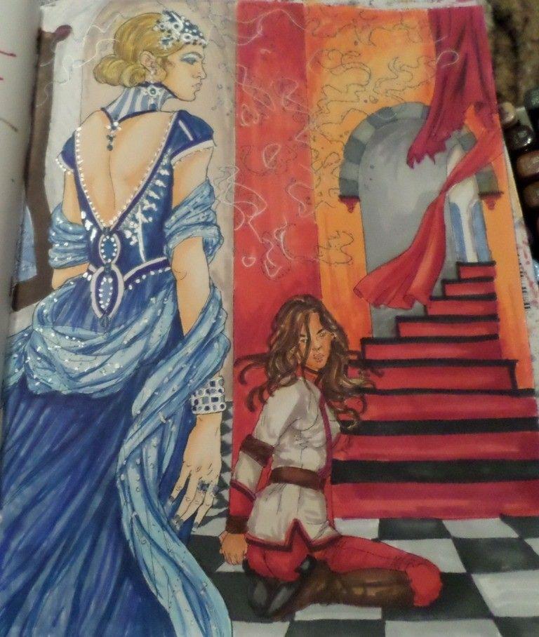 Red Queen Coloring Book Red Queen Pinterest Red Queen Queen