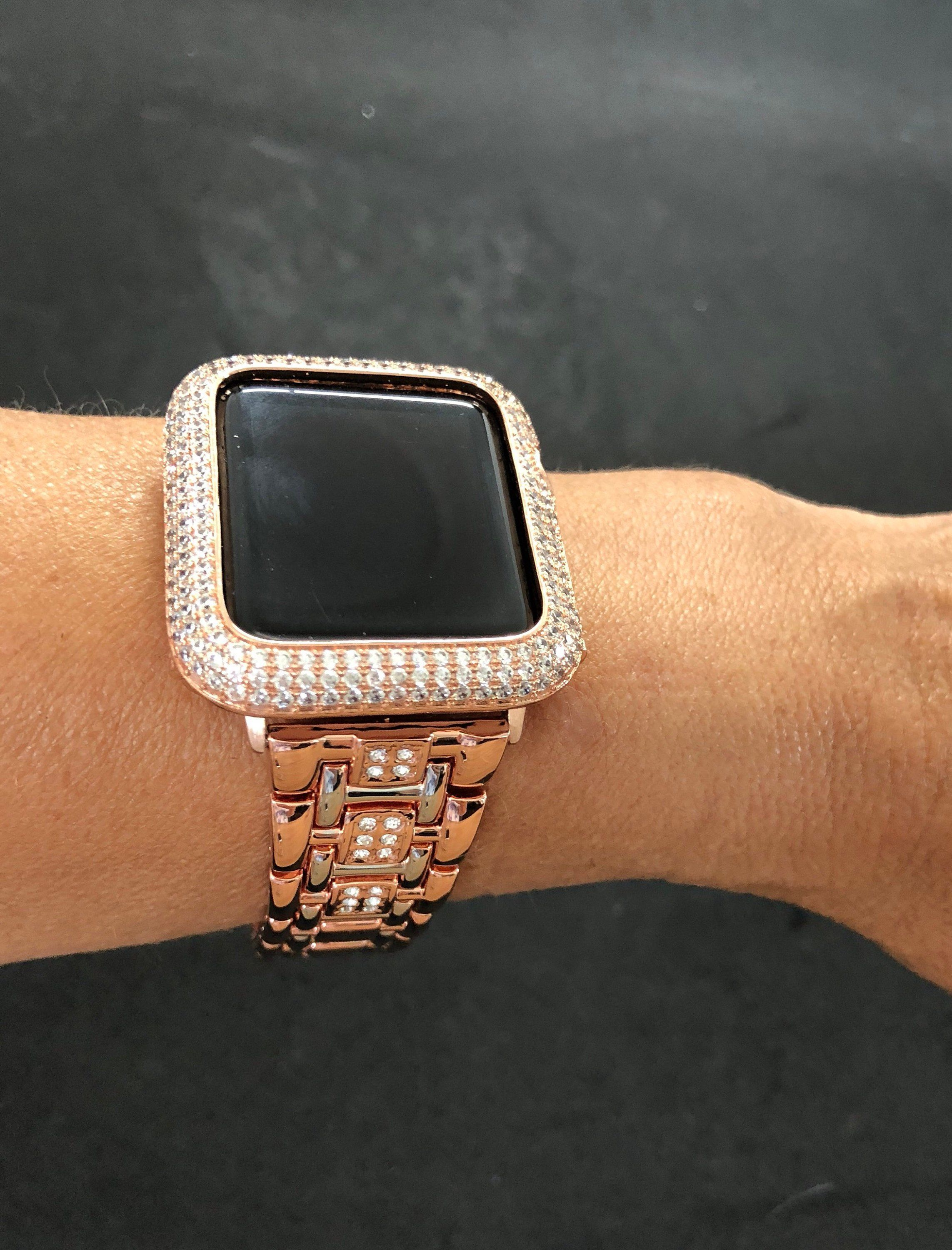 Apple Watch Band 38mm 42mm Series 1 2 3 Womens Mens Rose Gold