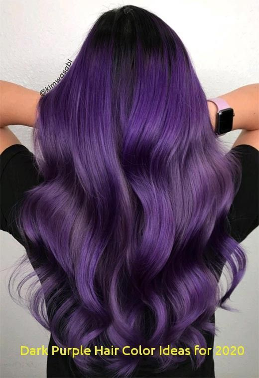 98 Best Dark Purple Hair Color Ideas for 2020#color #dark #hair #ideas #purple - bowerz.knee-high-boots-outfit43.ml