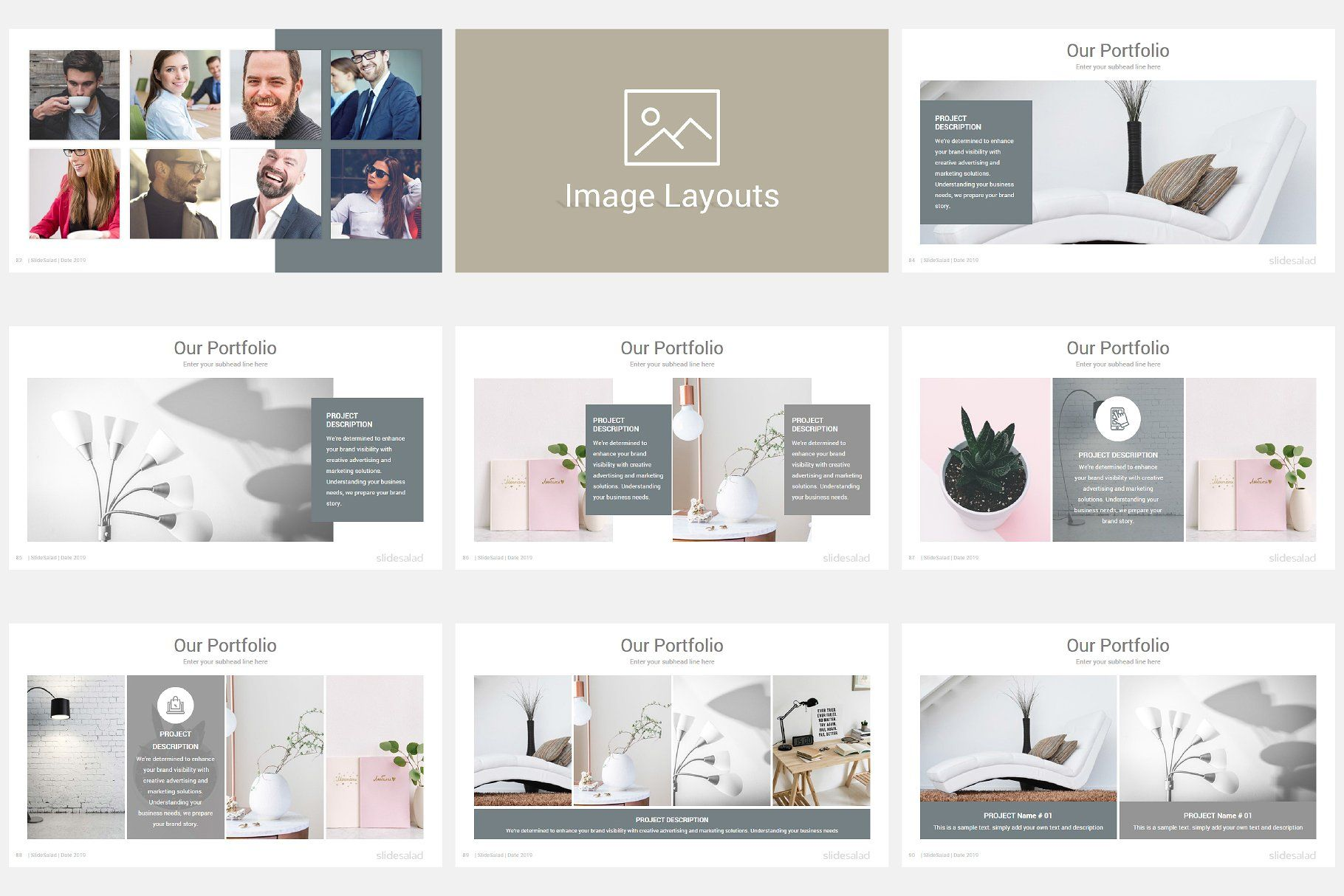 Modern Company Profile Powerpoint Company Profile Company Profile Design Web Design Icon