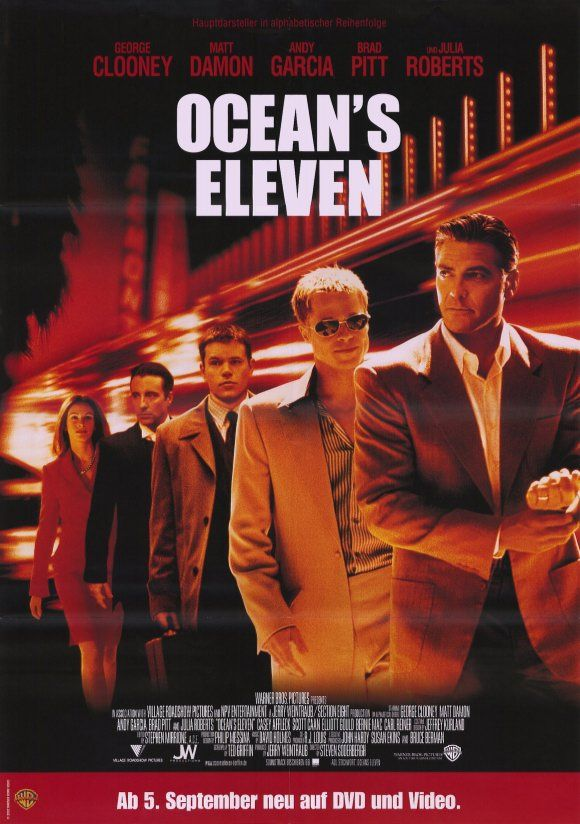 ocean's eleven movie Ocean's eleven movie complete edition to watch free danny ocean together with his 11 co workers, intend to steal 3 las vegas, nv casino houses at.
