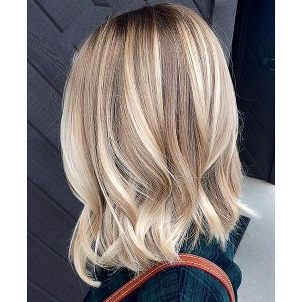 Blonde Bayalage Hair Color Trends For Short Hairstyles 2016 2017 Liked On Polyvore Featuring Beauty Produ Blonde Bayalage Hair Cool Blonde Hair Hair Styles