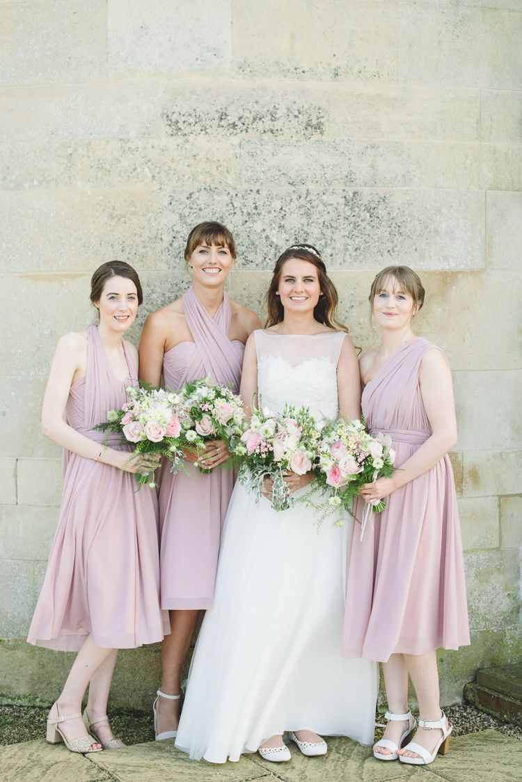 Pretty pink floral garden wedding short bridesmaid dresses asos pretty pink floral garden wedding httpsgeorgimabee ombrellifo Images