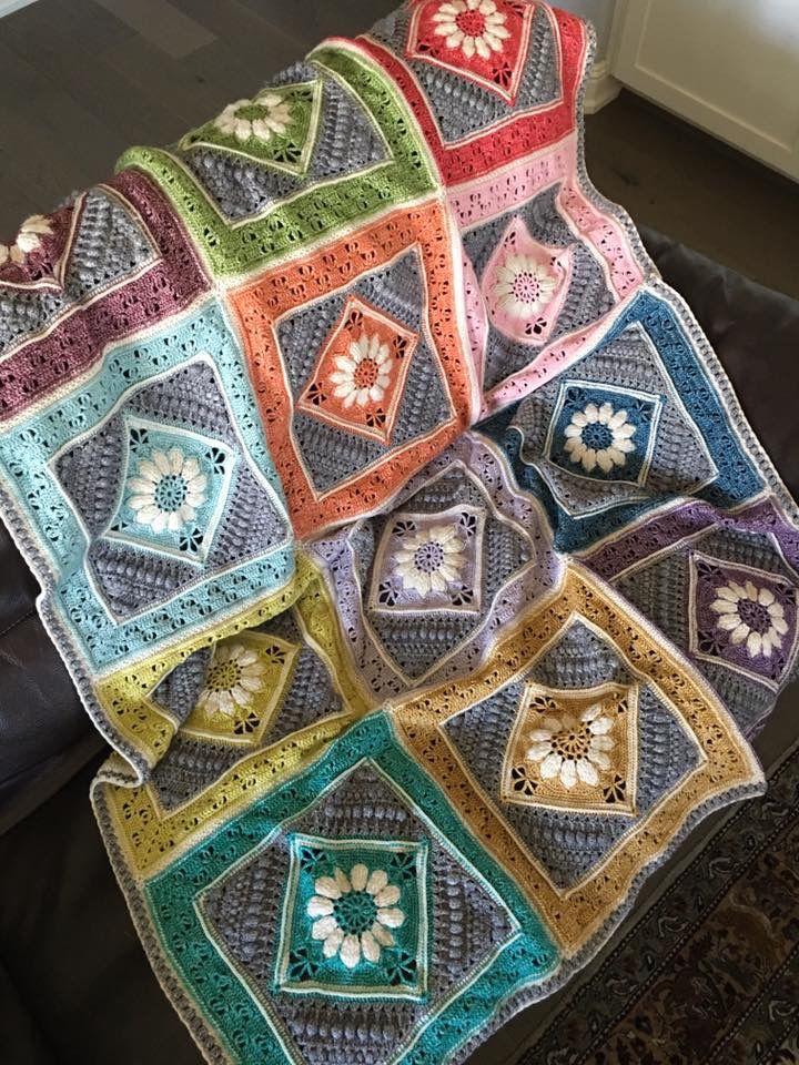 Pin de Sarah Jane Kindon en Crochet - Nuts about Squares | Pinterest ...