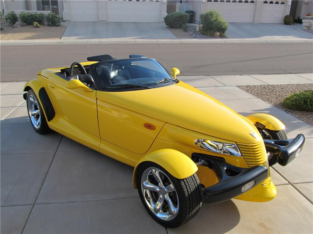 2002 CHRYSLER PROWLER CONVERTIBLE Autos, Clasicos