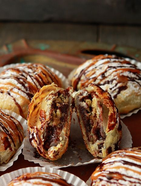Cookie Dough Cheesecake Brownie Pastry Pocket