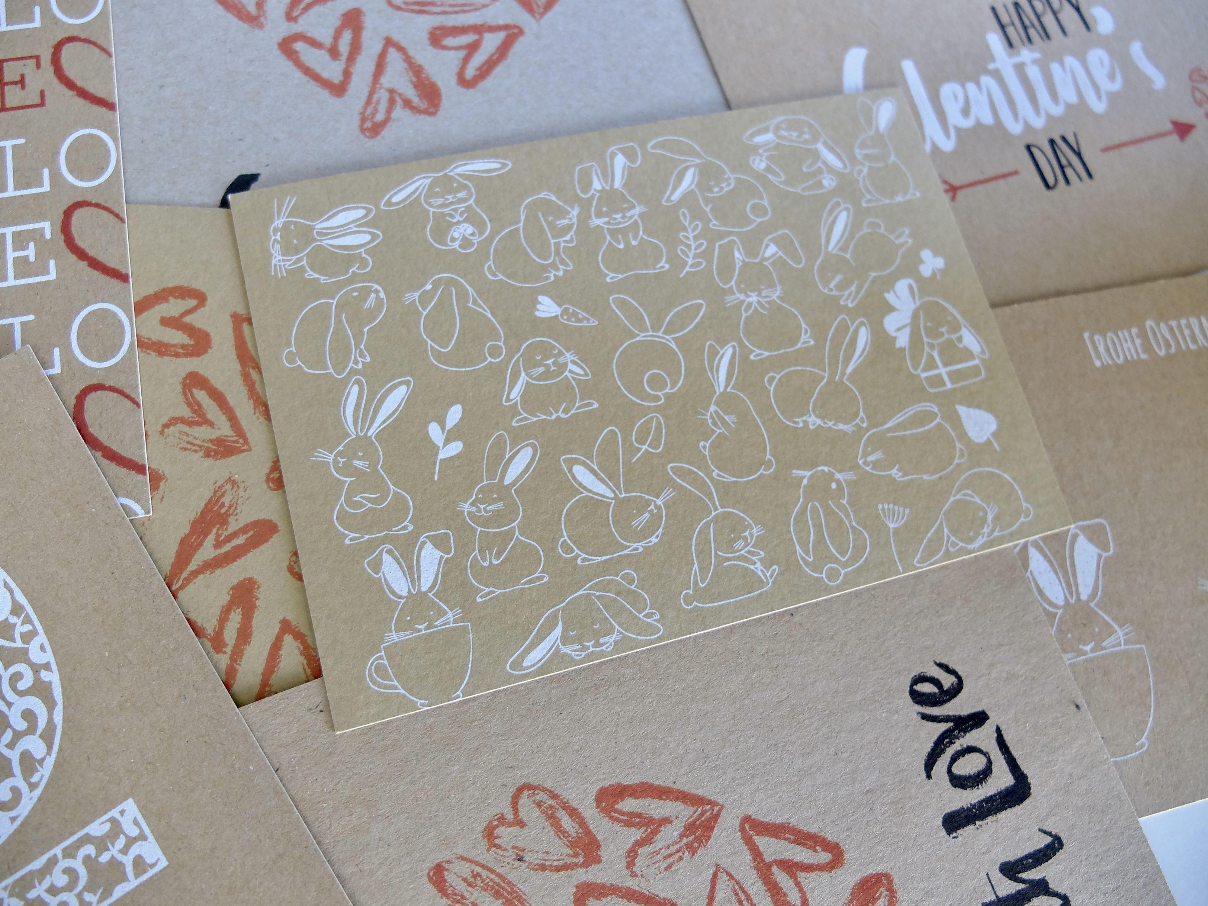 Natur Und Recyclingpapiere Bedrucken Mit Extraprint