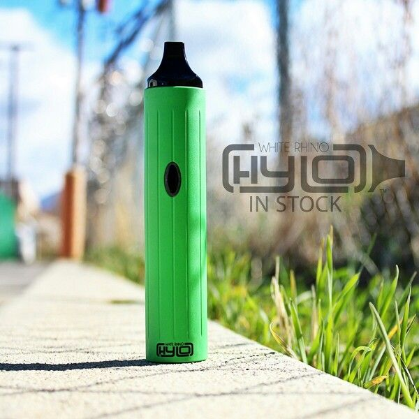 The White Rhino Hylo vaporizer is now in stock. 3 temperature settings, mulit use vaporizer and many colors to choose from at whiterhinoproducts.com #hylo #whiterhino #newvaporizer #vapepen #whiterhinolife #2015vaporizer #vapelife #hylovaporizer #nature #vape #green #grass