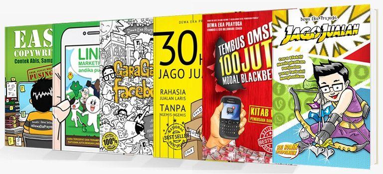 Buku Bisnis Online paling laris | Comic books, Books