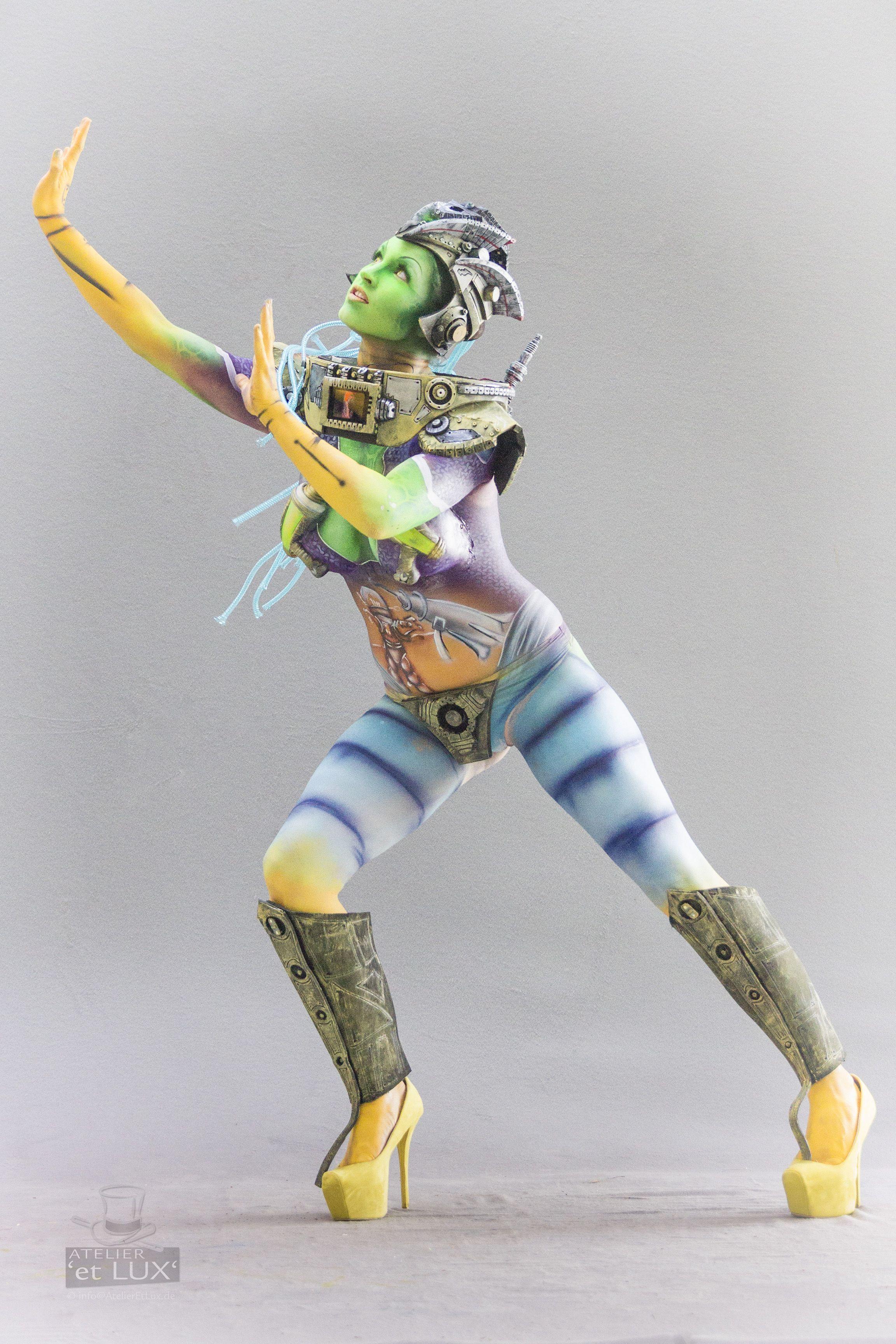 WBF 2014 | SFX Bodypainting Qualification 'Pop Art'  Photography: Atelier 'et Lux' (Eve Lumière), Artist ID222: Rudy Campos - USA