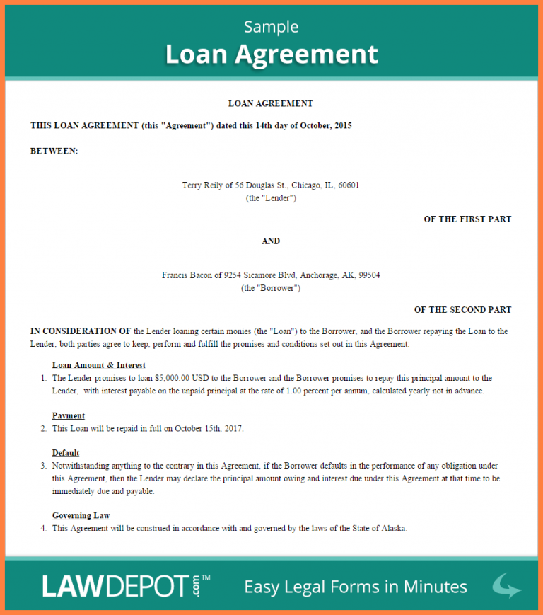 8 Personal Loan Agreement Between Friends Purchase Agreement Group In 2020 Personal Loans Loan Agreement