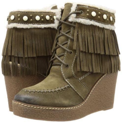 f2767d37e4ec 83.30 USD ❤ Sam Edelman Women s Kemper Boots Moss Green Suede NEW SZ 10 ❤   edelman  womens  kemper  Sweater  Nova  Curvy  Leggings  inspiration   Everyday ...