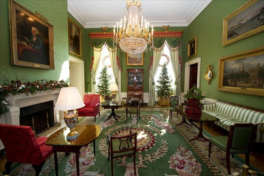 green room--christmas at the white house.. | *christmas ~ white