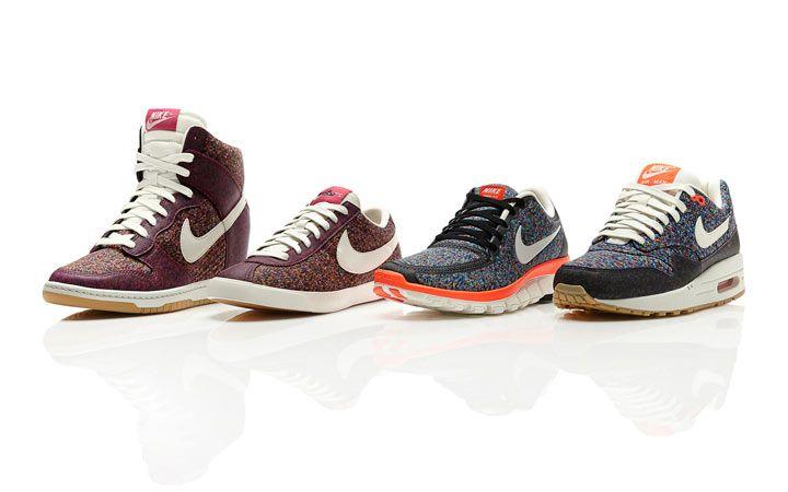 Nike x Liberty trainers