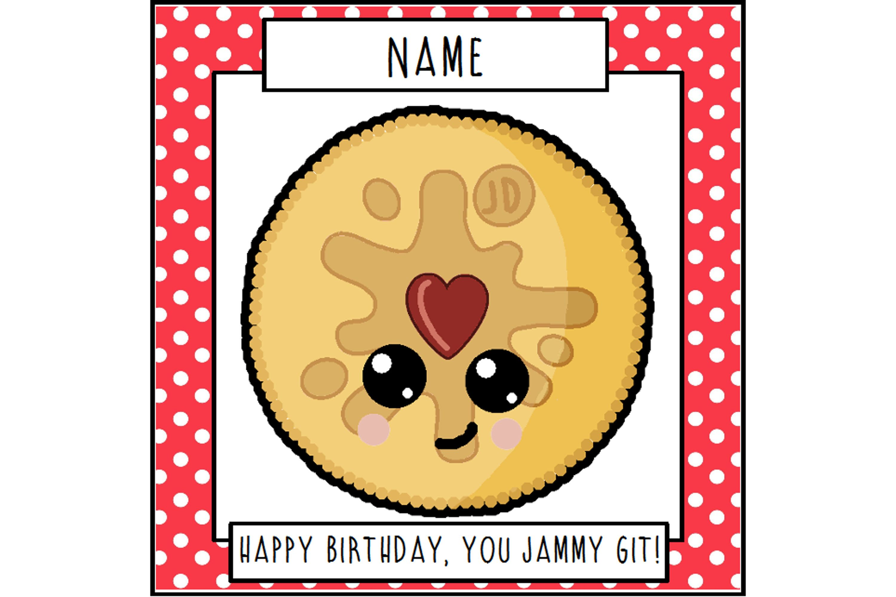 Biscuit birthday card funny card greetings card jammy git biscuit birthday card funny card greetings card jammy git funny birthday kristyandbryce Image collections
