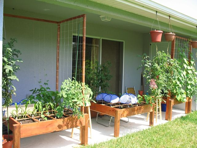 Ordinaire Back Porch Gardening