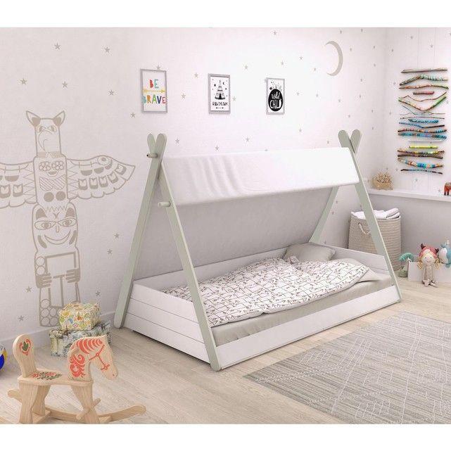 Lit Enfant Tipi Taille 90x200 Cm Home Design Decor