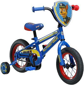634fcdc0d85 Boys 12 inch Mongoose Paw Patrol Bike   K I D D I E   C O R N E R ...