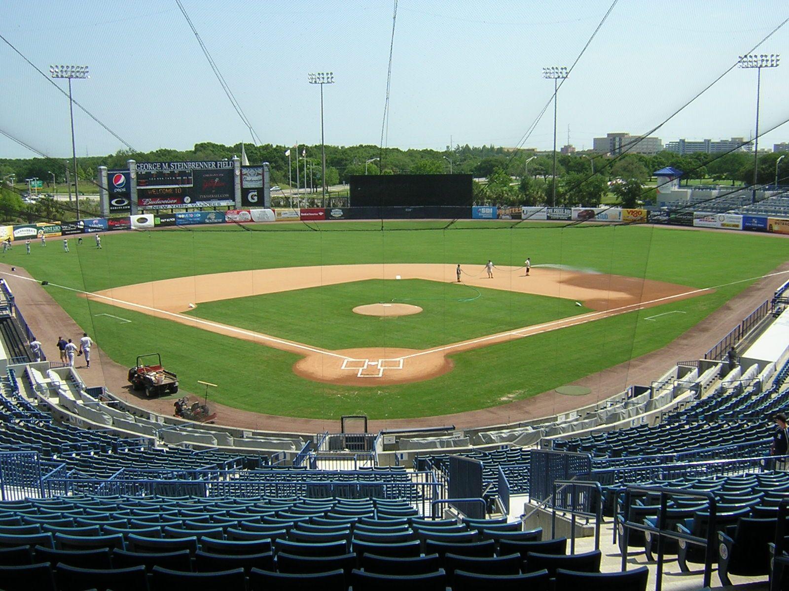 George Steinbrenner Field Field Ballparks Baseball Field