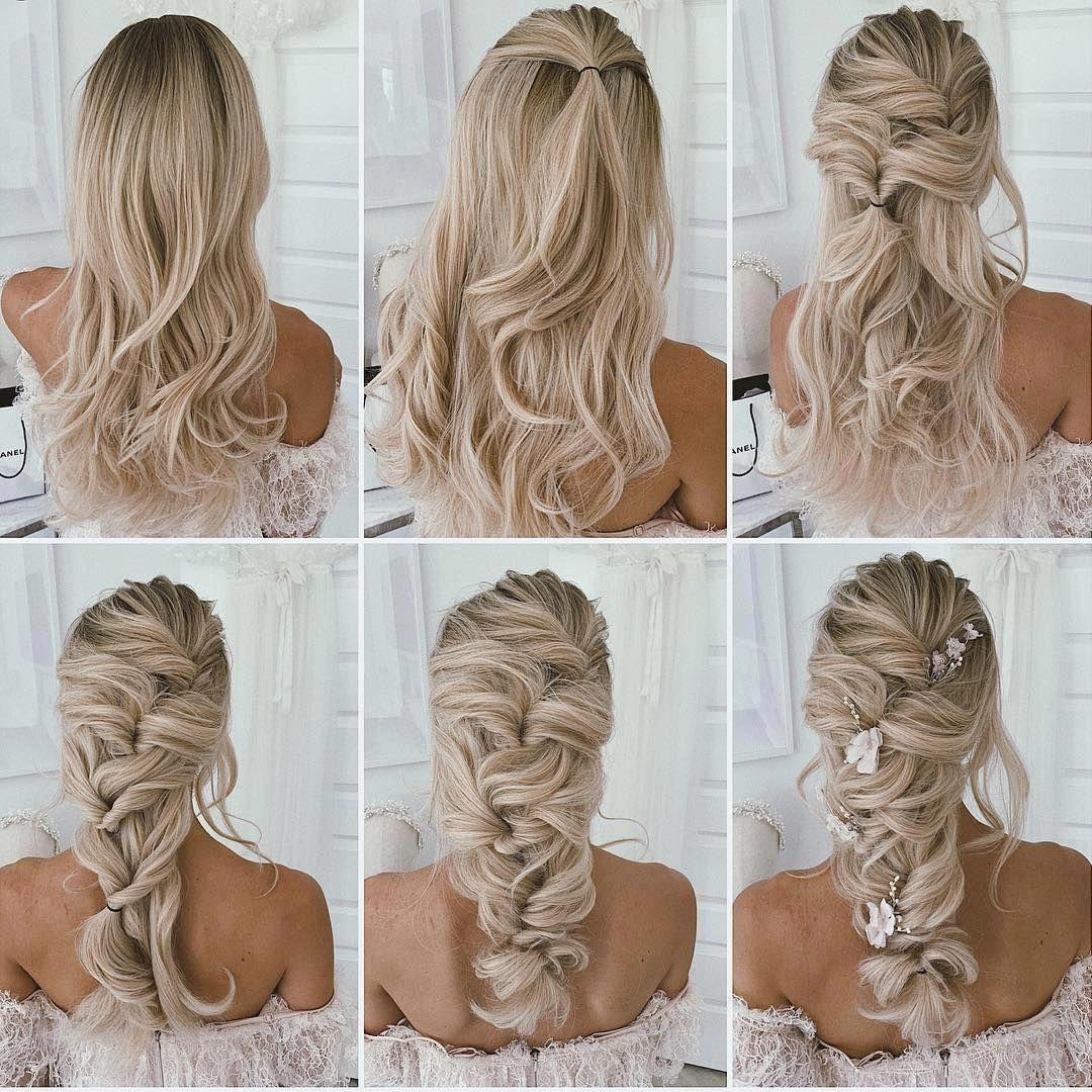 Wedding Braid Bride Weddinghair Hair Hairstyle Haircolor Haircut Hairtutorial Weddinghair B In 2020 Diy Wedding Hair Wedding Hairstyles Tutorial Hair Styles