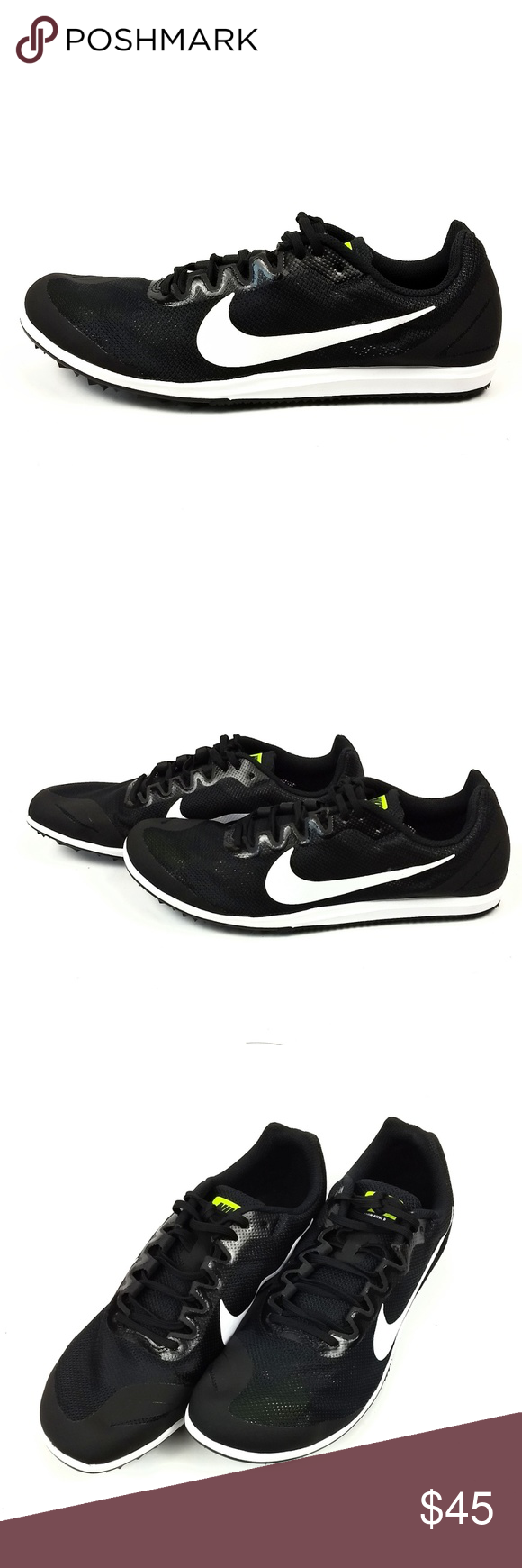 purchase cheap 10831 be57e Nike Zoom Rival Track Distance Spike Shoes Mens 10 Nike Zoom Rival D 10  Track Distance
