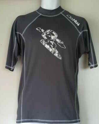 6a0c66180194 NEW Da Hui Surf Mens Hawaiian Short Sleeve Rash Guard Shirt Size XXL ...