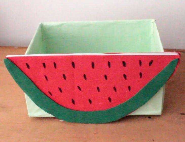 Organizador de treco melancia.