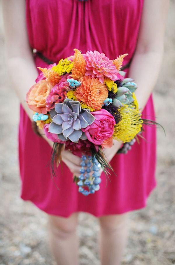 #Boho #Chic #bouquet