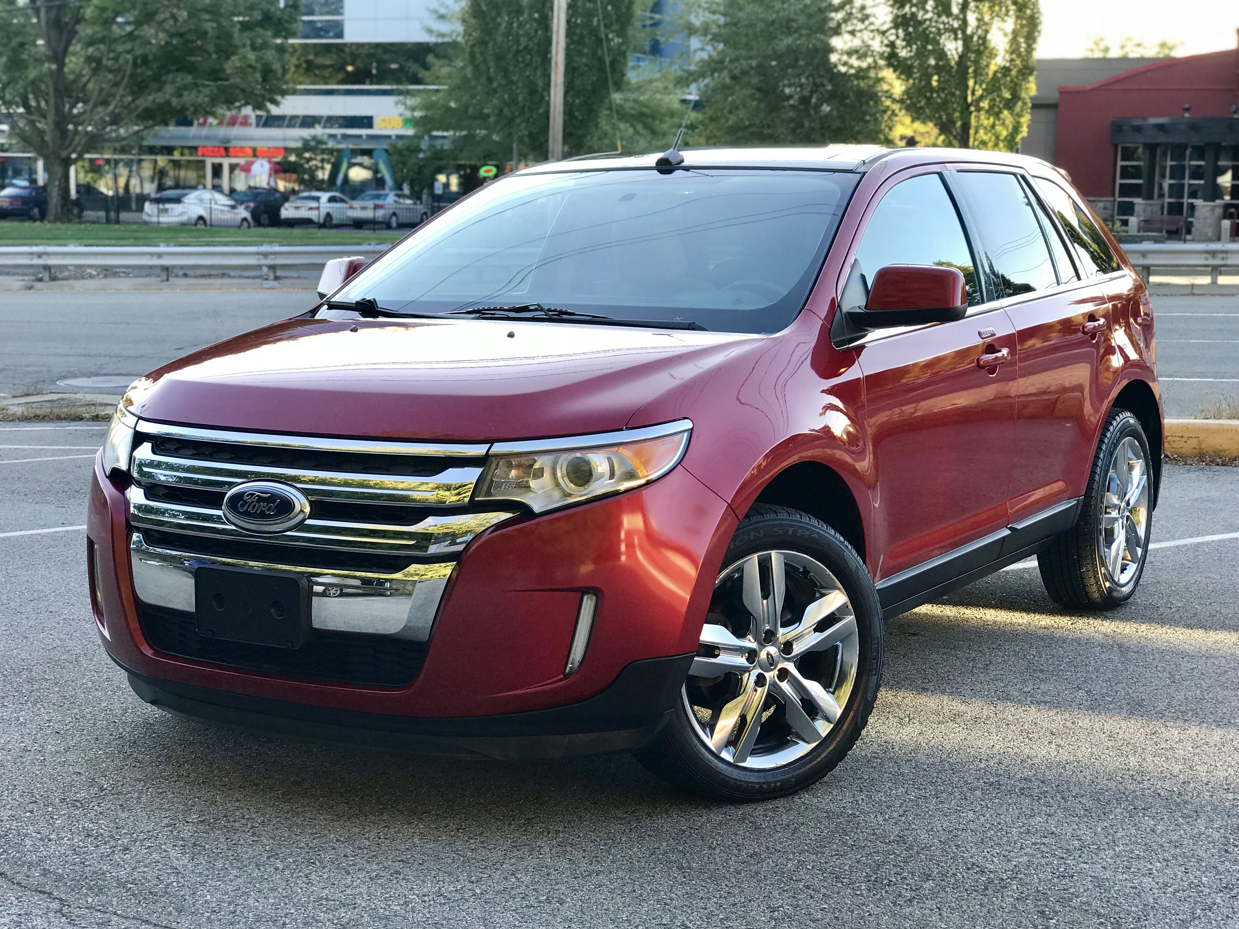 Take a look at this low mileage beautiful Ford Edge Limited AWD