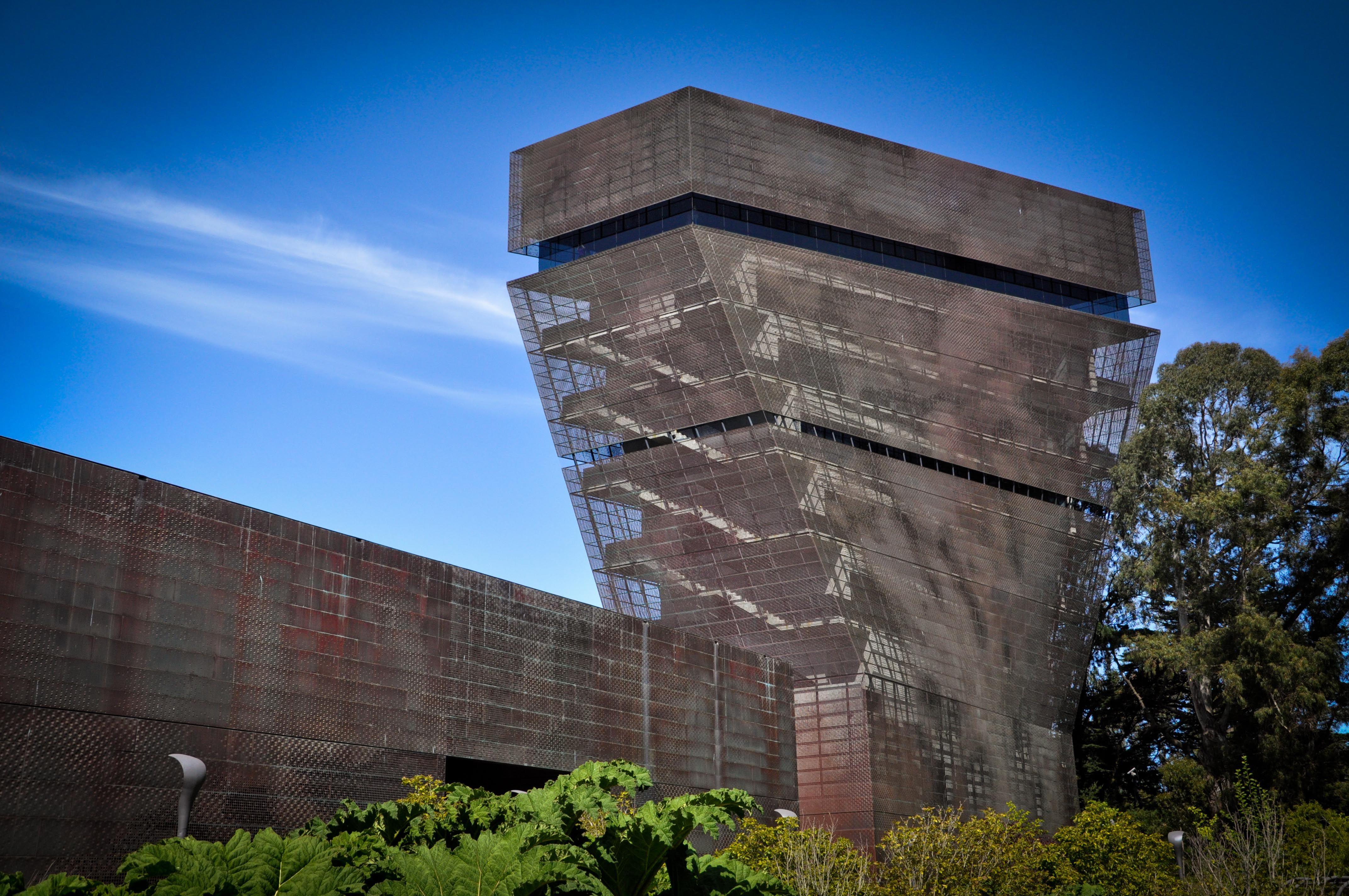Deyoung Museum San Francisco #architecture #demeuron #