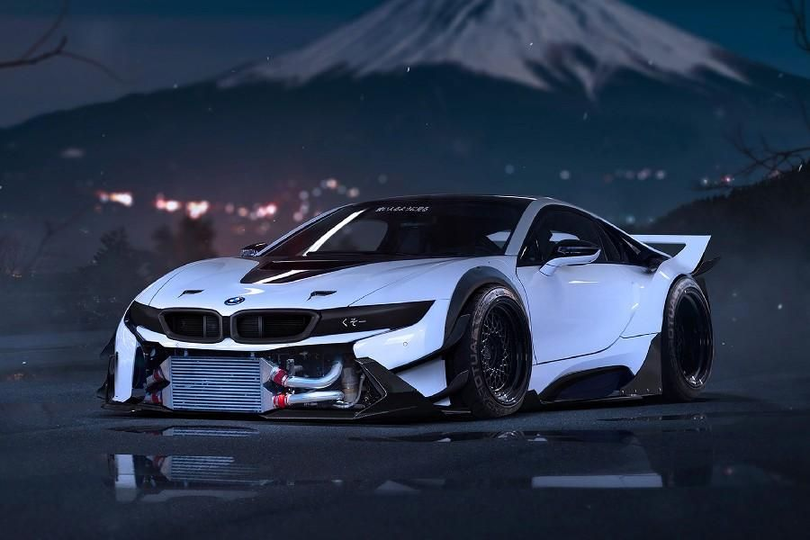Bmw I8 Supercar Wall Art Bmw Bmw I8 Bmw Wallpapers