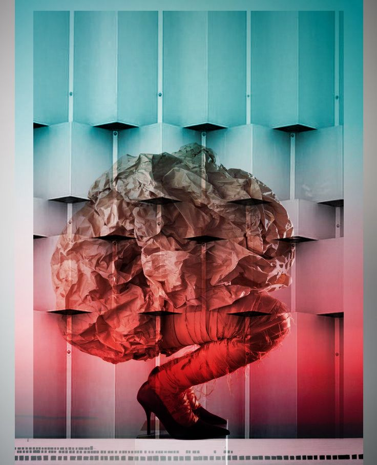 The secrets of women brain    illustrated & designed by Ali Tekay