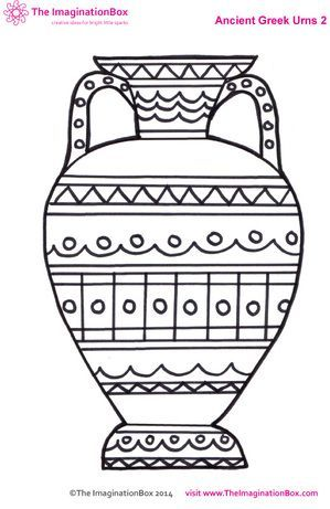 Creative Travel Friendly Activities And Printables For Kids Interesting Greek Vase Patterns