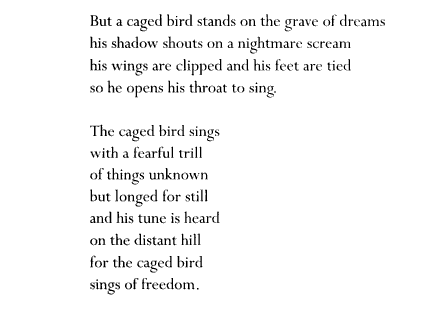 a angelou i know why the caged bird sings beautiful ballet   a angelou i know why the caged bird sings