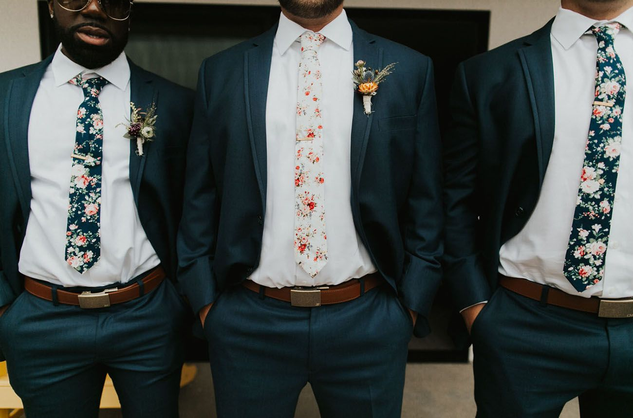 Magnificently Mustard This 70s Inspired Wedding Is Bringing The Sunshine Green Wedding Shoes Wedding Suits Floral Tie Wedding Wedding Suits Men