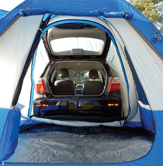 Car Camping Hatchback