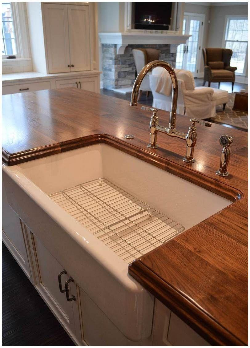 distressed black walnut countertop | Countertops | Pinterest