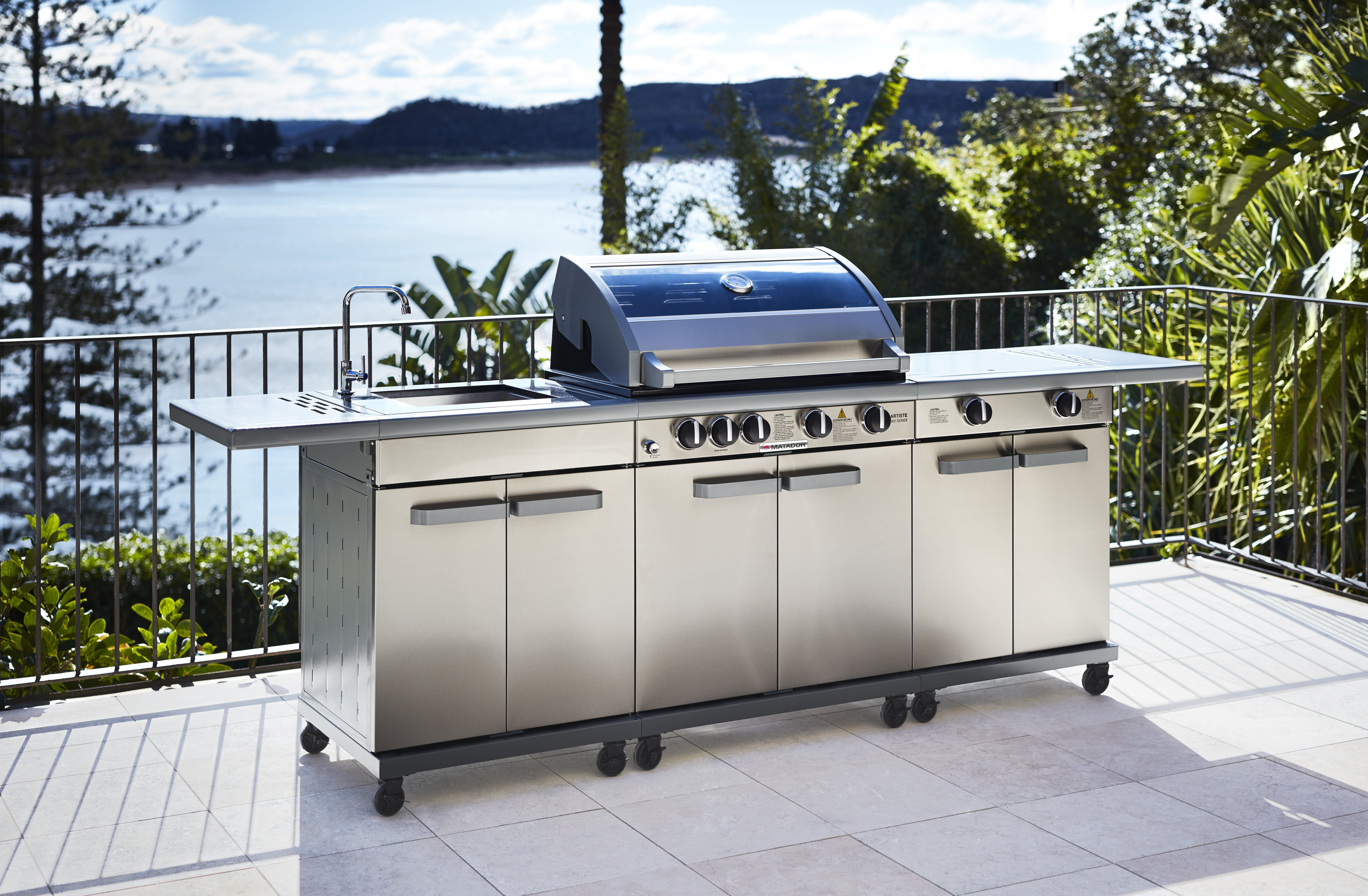 Outdoor Kitchen Cabinets Bunnings o