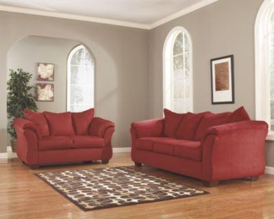 Awe Inspiring Darcy Sofa And Loveseat By Ashley Homestore Salsa Interior Design Ideas Apansoteloinfo