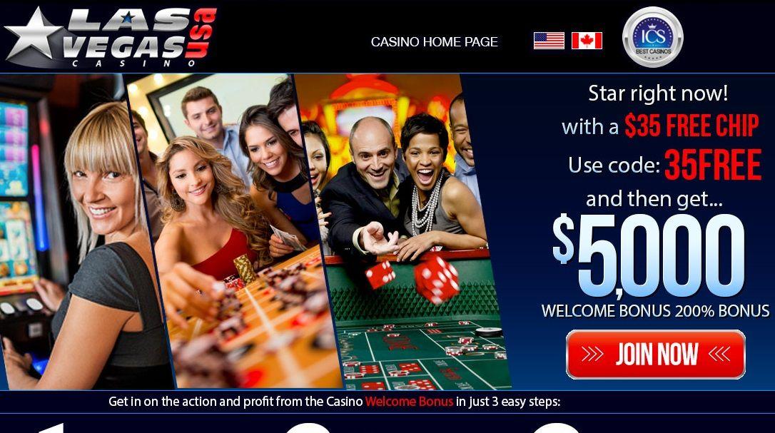 Las vegas usa casino * $35 free no deposit bonus code ()