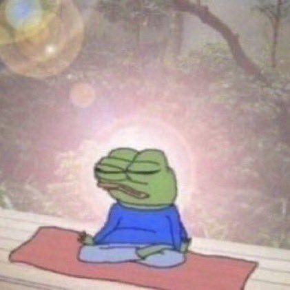 Meditating Meme Funny Profile Pictures Frog Meme Memes