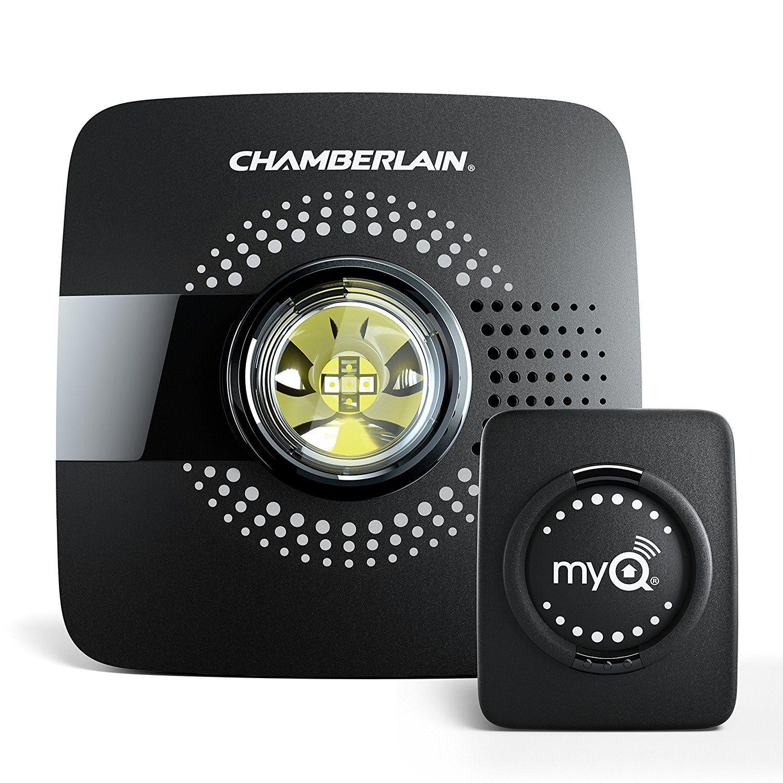 Chamberlain Smart Garage Hub Myq G0301 Upgrade Your Existing Garage Door Opener With Myq Smart Phone Smart Garage Door Opener Garage Door Opener Garage Doors
