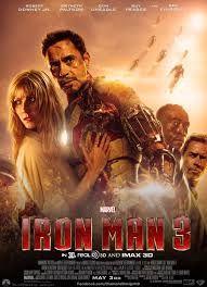 Iron Man 3 poster.